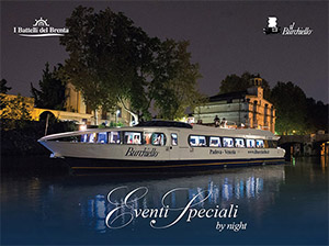 I Battelli del Brenta & Il Burchiello - Eventi by Night
